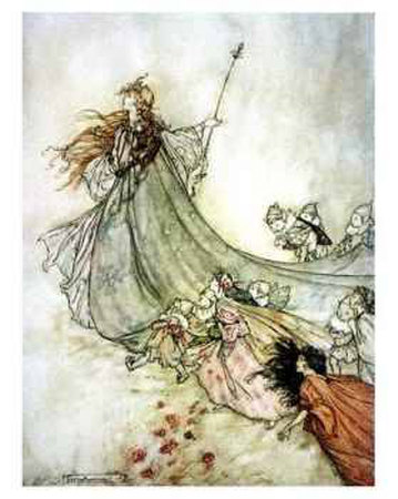 literature out loud supernatural elements in shakespeare s plays titania the queen of the fairies